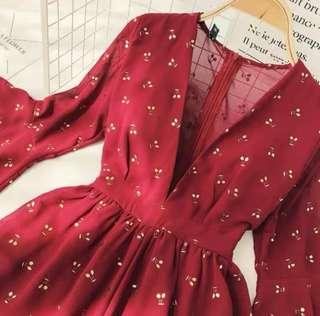 Red Cherry Jumpsuit *BNWT