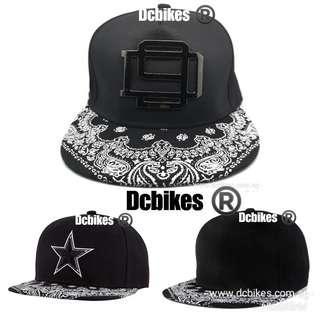 a9d9b135990 Hip Hop Embroidery Printing Black Baseball Snapback Cap Hat  Dcbikes ( Models  Available