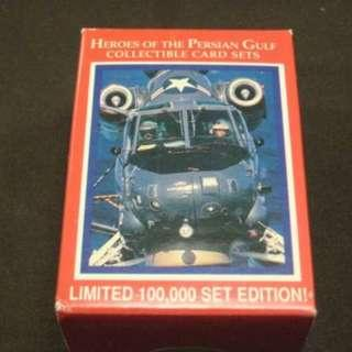 1991 Lime Rock Heroes of the Gulf War Trading Card Set