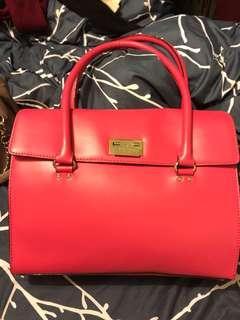 Kate Spade shoulder handbag real leather