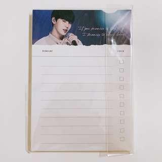 [WTS] Wanna One - SungWoon To-Do List Pad