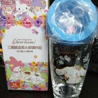 [rare] cinnamoroll sanrio glass mug