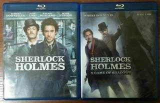 Blu ray Sherlock Holmes 2 film lot