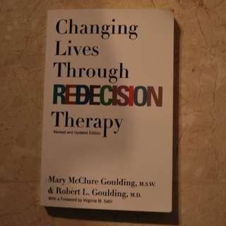 New - Changing Lives Through Redecision Therapy