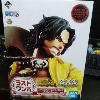 [last prize] one piece ace kuji figure