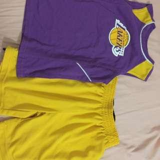 Authentic LA lakers terno