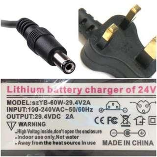 Escooter charger 24V