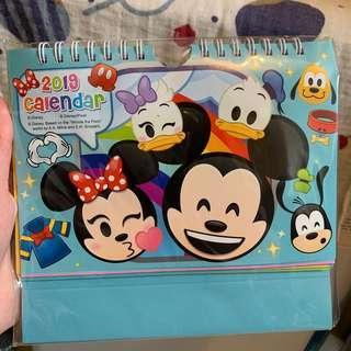 Disney pop up calendar 立體月曆