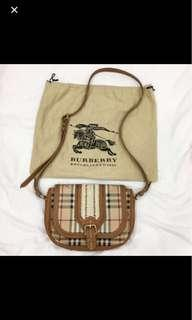 REDUCED TO CLEAR: Burberry Crossbody Sling Bag
