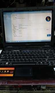 Samsung Q310文書Notebook已換全新SSD及升級至WIN7