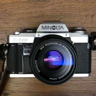 Minolta X-500 + MD Rokkor-X 45mm f2