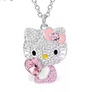 Valentine Special - Hello Kitty Pendant with necklace