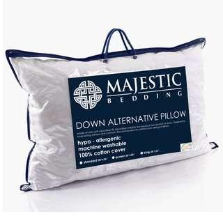 Down Alternative Pillow OEKOTEX certified Hotel Bed Pillows