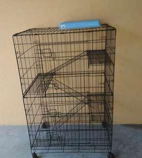 Cat Cage 3 level