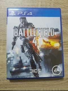 PS4 Battle Field 4 英文