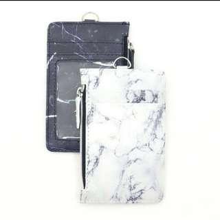 🚚 (PO) Marble cardholder