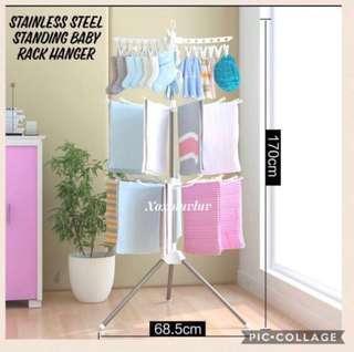 Brand New Stainless Steel Baby Rack Hanger