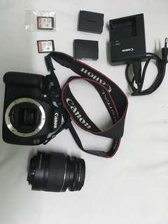 EOS 1200D with 18-55mm kit lens