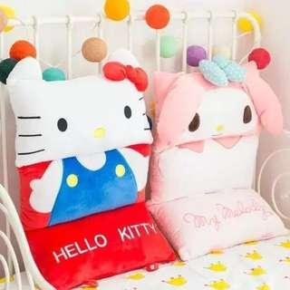 Hello Kitty/My Melody Chair Cushion