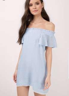 Tobi off shoulder dress