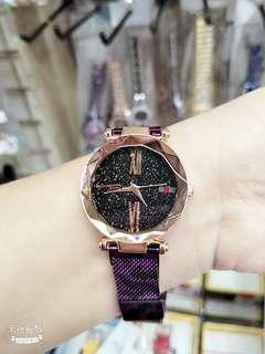 🚚 最夯磁扣手錶-豹紋版