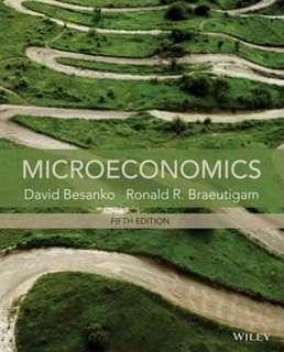 🚚 Microeconomics Textbook 5th edition