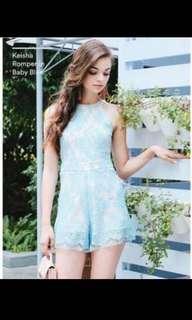 🚚 Mds Sweet Pastel Blue Romper