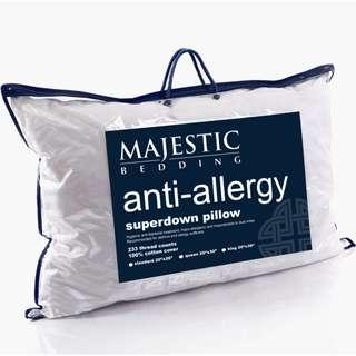 Super Down Anti-Allergy Hotel Bed Pillow OEKOTEX certified
