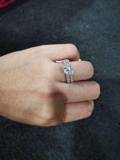Engagement 2 in 1 Ring