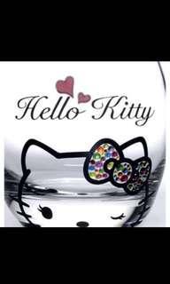 Valentine Gift- Hello Kitty Drinking Glass