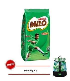 Milo activ-go 1kg free bag