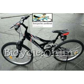 "Xtreme Full Suspension Mountain Bike / 26"" MTB ✩ 18 Speeds ✩ Brand New Bicycle"