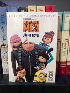 Despicable Me 3 The Junior Novel