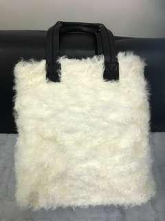義大利名牌Gigil Franco真皮羊毛袋