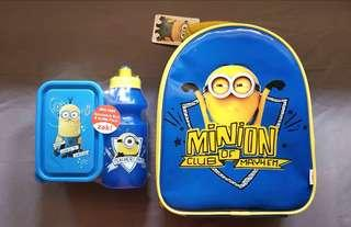 Zak! Minions Lunchbox, Snackbox & Bottle Set