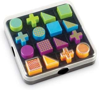 *Brand New* Learning Resources Mental Blox Shape Go! 20 Pieces (Best Gift for Holiday Travel, Birthday and Christmas) Sequencing Pattern Blocks Social Games