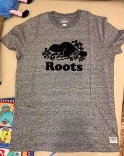 🚚 Roots加拿大🇨🇦男款休閒短袖Y恤