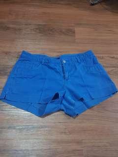 Hotpants blue