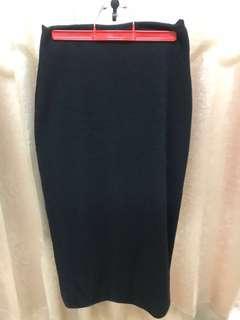 🚚 針織S曲線裙