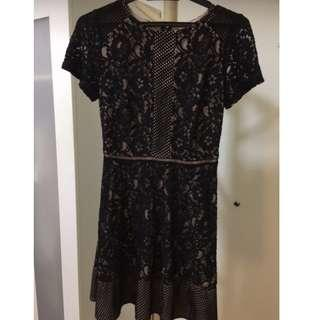 Oasis Perforated Lace Dress - RM75