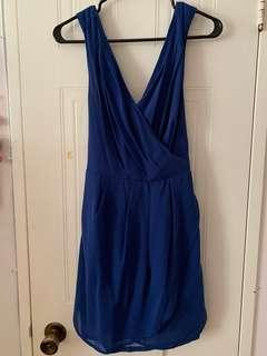 Blue dress from Honey