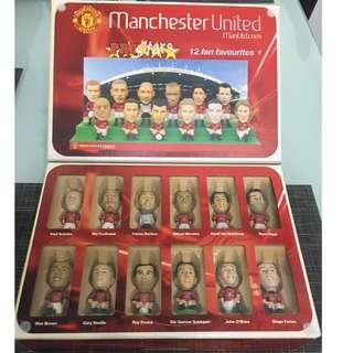 Man United Miniature Pro-Star Year 2002/2004 With Cards