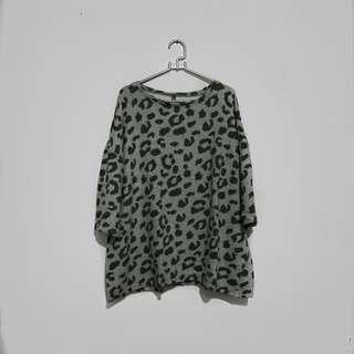 ROCKER SUCKER FUCKER Leo Drop Shoulder Oversized Tee