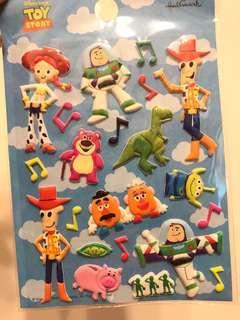 日本Hallmark反斗奇兵toy story迪士尼disney貼紙sticker