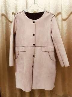 🚚 麂皮太空棉外套