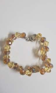Handmade Yellow Gold Bracelet