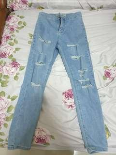 Topshop Ripped Jeans