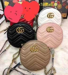 Gucci Round Chain Sling Bag