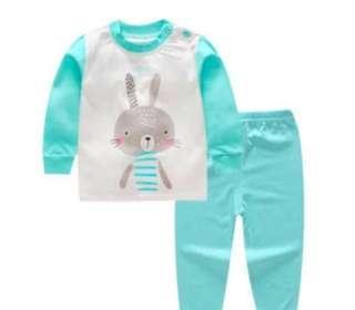 *INSTOCK* Unisex Blue Rabbit Pyjamas
