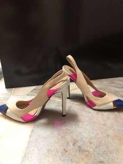 Fancy Mixture colour heel
